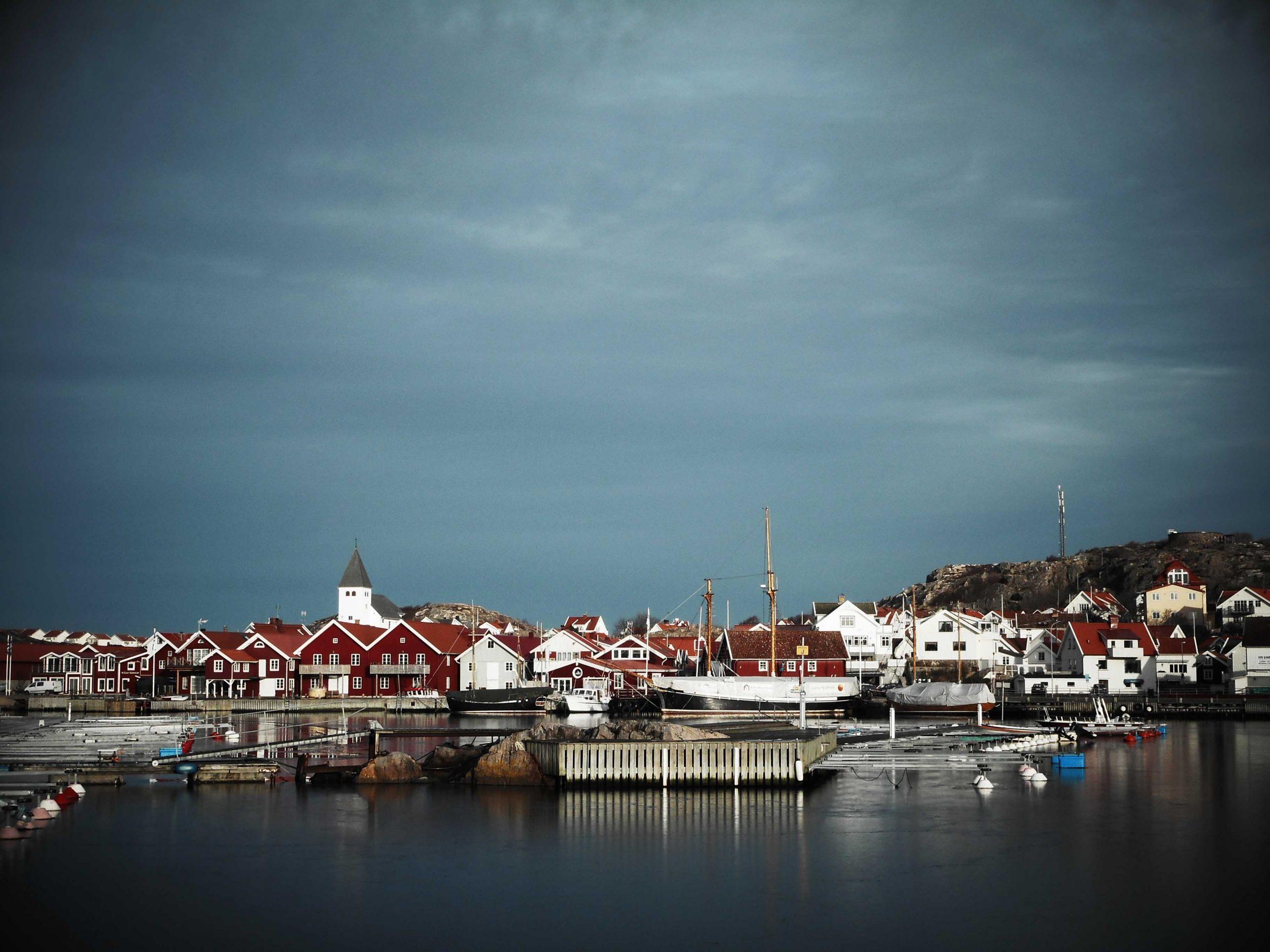 Vy över Skärhamn