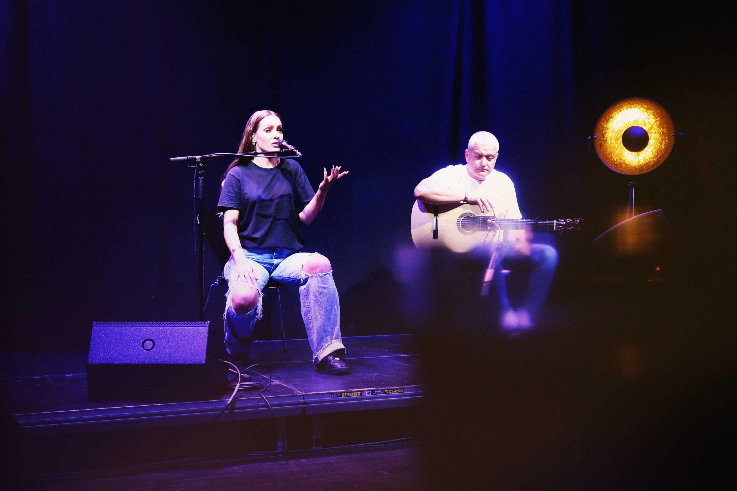 Ingrid Vogt & Jesús Morente. Transform World Festival 2021.